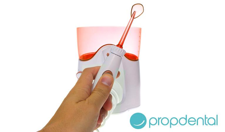la limpieza protesis dentales