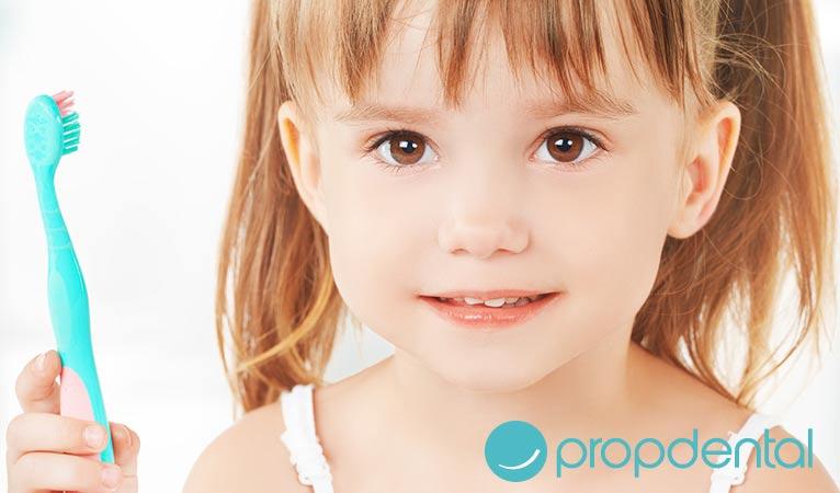 prevención de la caries dental en los mas pequeños