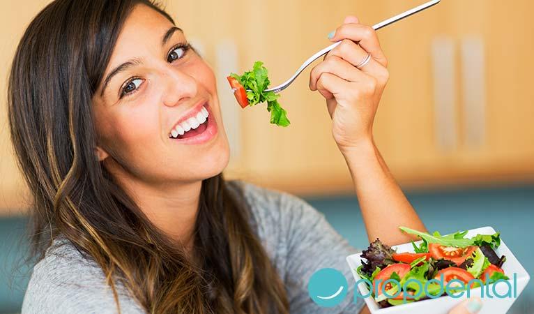 alimentación sana para una sonrisa sana