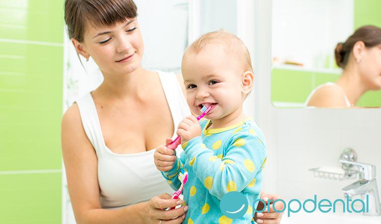 cuida la salud oral de tu bebé