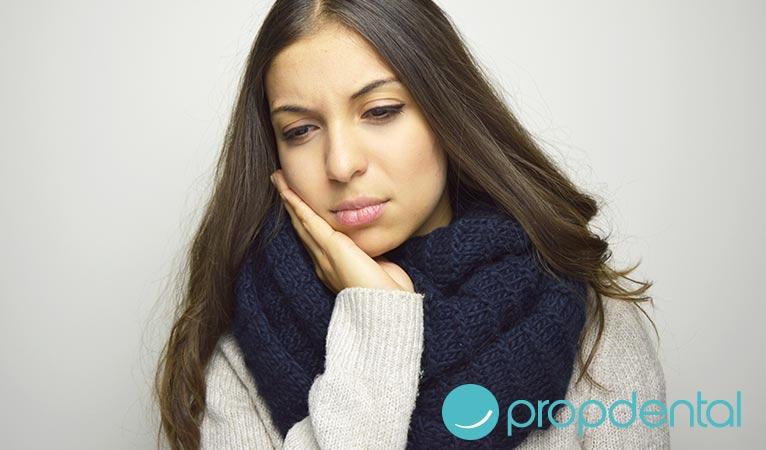 Solucionar la sensibilidad dental en invierno