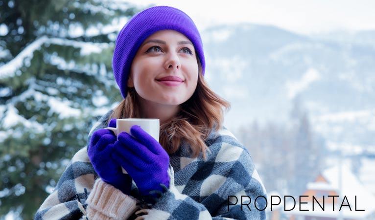 ¿Sabías que el frío también afecta a tu sonrisa?