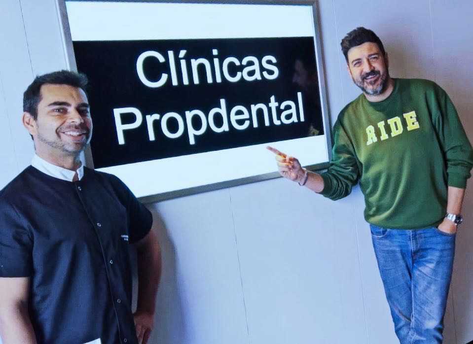 Tony Aguilar dentista Madrid
