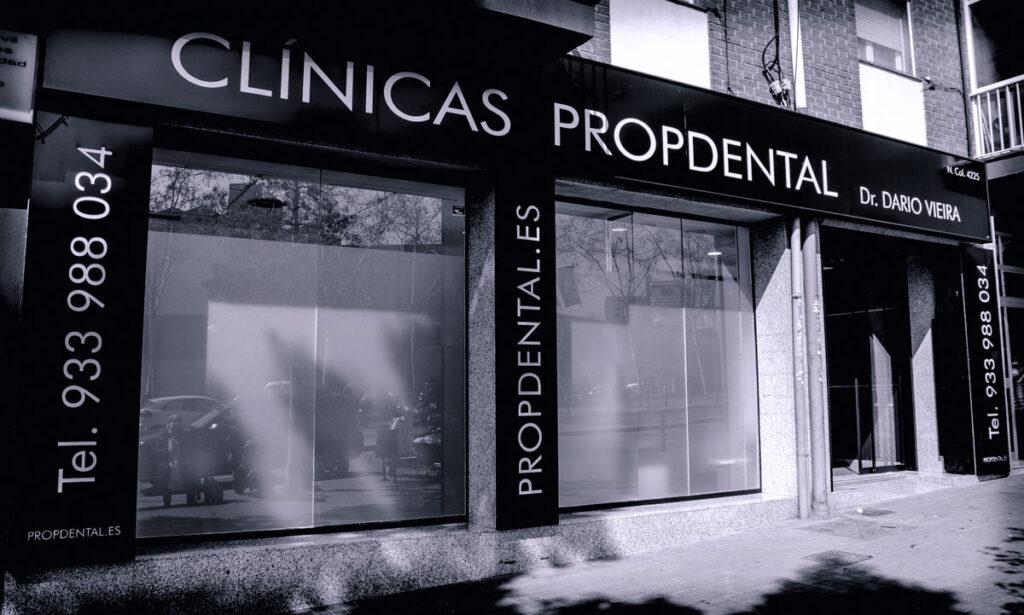 clínica dental Badalona marques sant mori