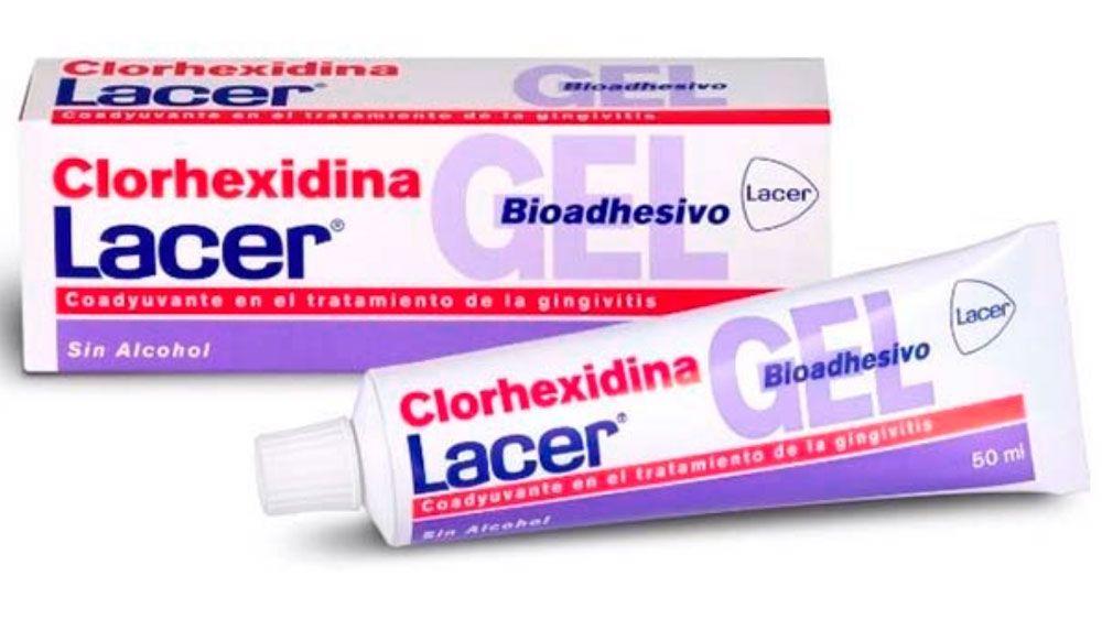 gel de clorhexidina