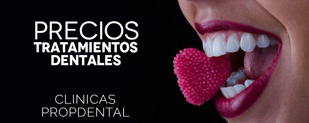 precios tratamientos dentales