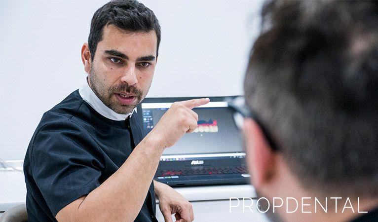 planificación de un tratamiento de implantes dentales