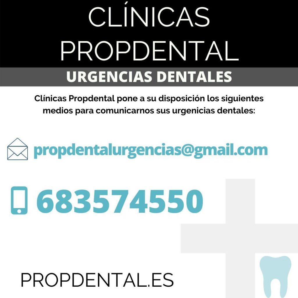 urgencias dentales propdental contacto